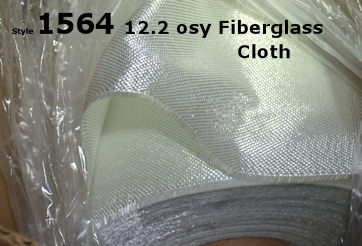 12.2 ounce osy Fiberglass Tooling Cloth from Thayercraft
