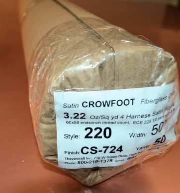 220 50 CS724 50 yds from Thayercraft ready to ship from