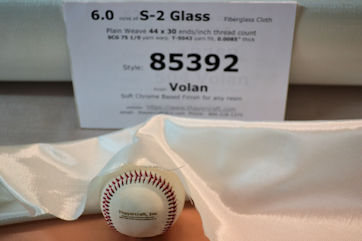 Tight Weave S-2 Glass fiberglass cloth style 85392