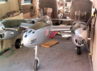 B17 Joe's P38 made with fiberglass from Thayercraft
