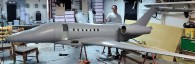 Bob Moore's 1/4 scale Cessna Citation II made with fiberglass from Thayercraft