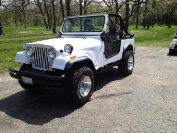 Rebuilt jeep using Thayercraft Fiberglass