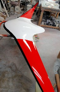 JF6 using fiberglass from Thayercraft