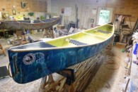 JK canoes using fiberglass from Thayercraft