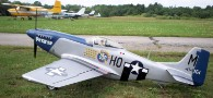 P51 covered with fiberglass from Thayercraft